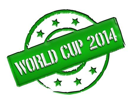 soccer wm: Signo, s�mbolo, sello o un icono para su presentaci�n, para los sitios web y muchos m�s llamado Copa del Mundo 2014