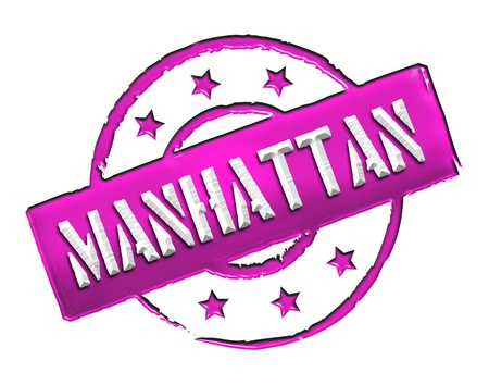 bronx: Sign, symbol, stamp or icon for your presentation, for websites and many more named MANHATTAN  Stock Photo