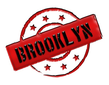 Sign, symbol, stamp or icon for your presentation, for websites and many more named BROOKLYN  photo