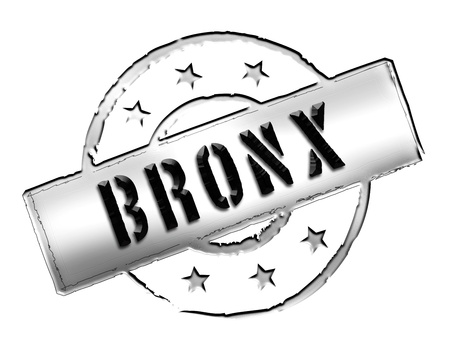 Sign, symbol, stamp or icon for your presentation, for websites and many more named BRONX  photo