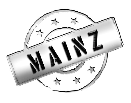 zeichen: MAINZ - Zeichen   Symbol im Retro Stil fuer Praesentationen, Prospekte, Internet,