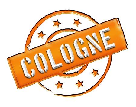 freigestellt: COLOGNE - Zeichen   Symbol im Retro Stil fuer Praesentationen, Prospekte, Internet,