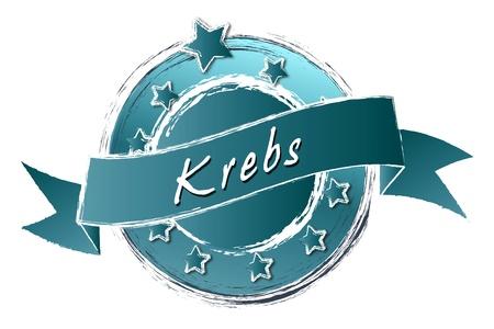 Tierkreiszeichen - Banner, Logo, Symbol im Royal Grunge Style fuer Praesentationen, Flyer, Prospekte, Internet,... Stock Photo - 14079426
