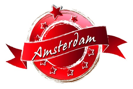 Amsterdam - Banner, Logo, Symbol  photo