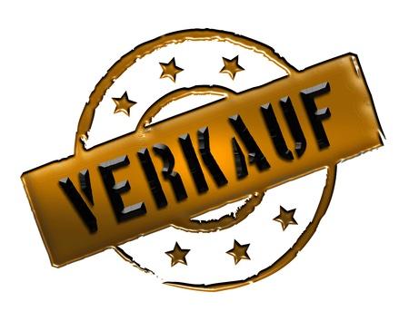zeichen: VERKAUF - Zeichen, Symbol im Retro Stil fuer Praesentationen, Prospekte, Internet,