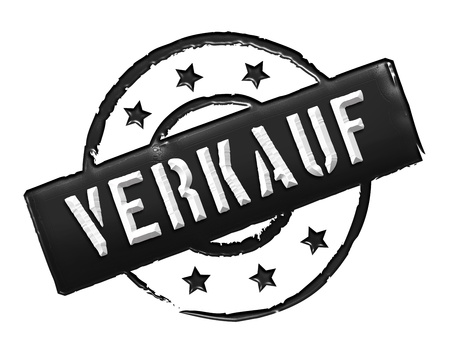 VERKAUF - Sign, Stamp in retro style for presentations, web, flyers, Stock Photo - 14614763