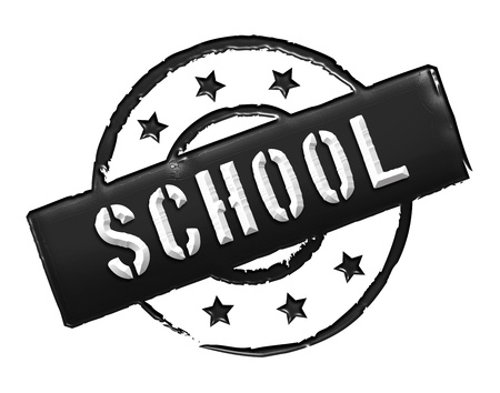 gelb: school - sign or symbol for presentations, web, flyers,    Stock Photo
