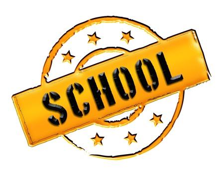 ferien: school - sign or symbol for presentations, web, flyers,    Stock Photo