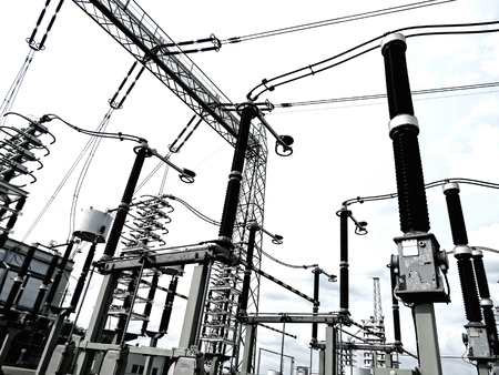 industrie: Electricity works