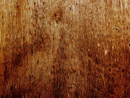 hintergrund: Wooden structure with rusty bolts and brattices to use as background or anything else Stock Photo