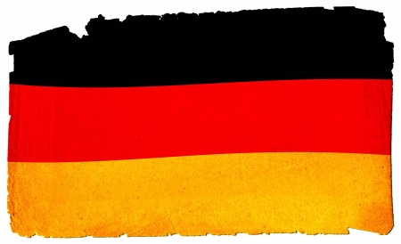Cool, grungy flag of germany to use for presentations and web photo