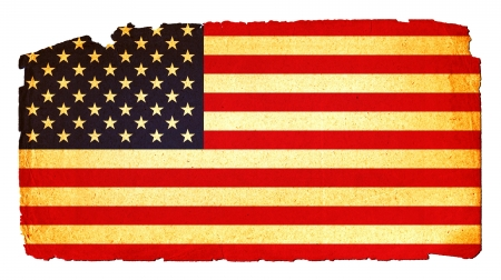 alt: Cool, grungy flag of USA to use for presentations and web