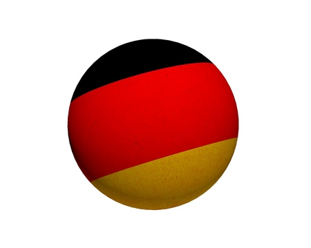 kugel: Cool, grungy flag of Planet - Germany to use for presentations and web