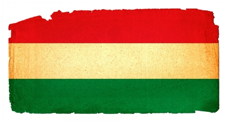 Cool, grungy flag to use for presentations and web Stock Photo