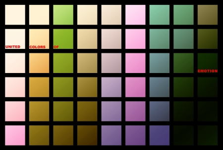 symbolization: Colored Squares as symbolization of emotions, which could be used for presentations, as wallpaper, background or even as art for your home.