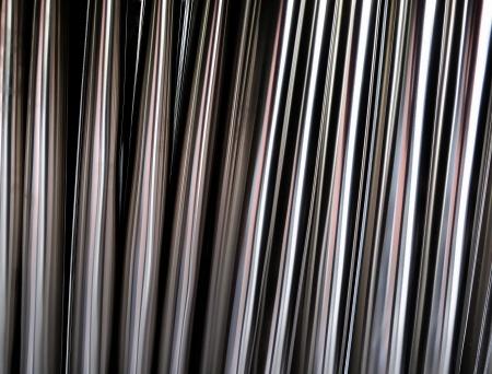 Gebogene Platten aus rostfreiem Stahl Standard-Bild - 16355302
