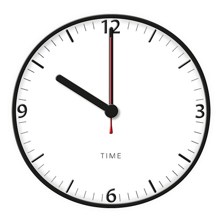 A classic station clock to use for presentations