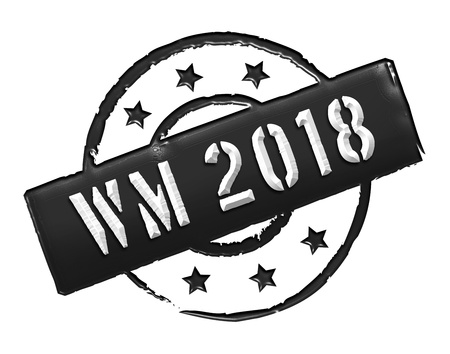 soccer wm: Sign, symbol, stamp or icon for your presentation, for websites and many more named WM 2018