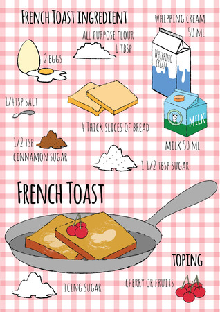 french toast: French Toast Illustration