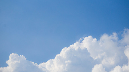 fleecy: blue sky and clound background