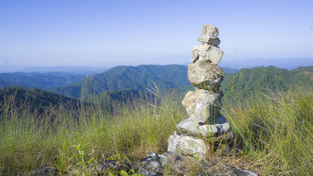 sanctity: mountain with sanctity, Chiangmai Thailand