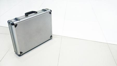 trade secret: Metal Briefcases on the floor