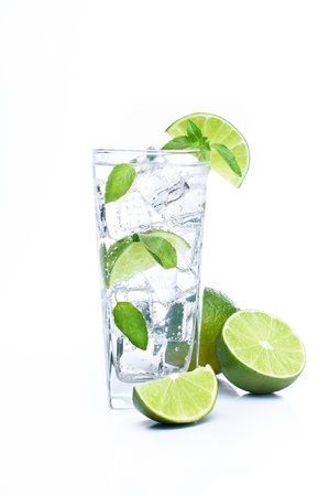 Mojito and lime photo