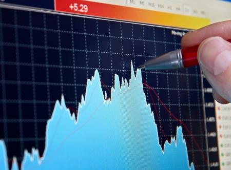 Market analyzing Stock Photo - 14367857