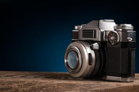 photocamera: Oldfashioned photocamera
