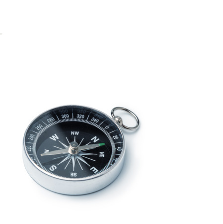 direction of: Classic compass isolated Stock Photo