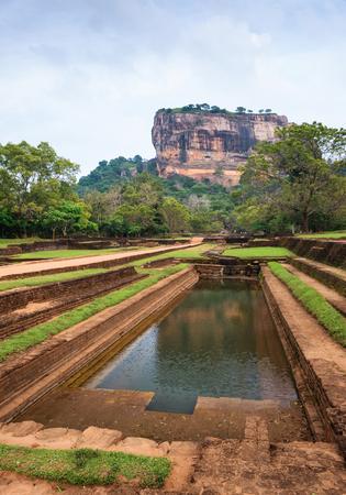 sigiriya: Ruins of ancient fortress Sigiriya
