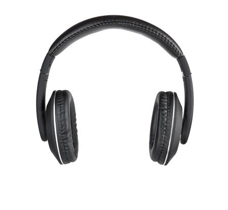 Black modern headphones