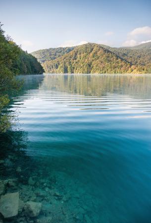 Beautiful Plitvice lakes Stock Photo