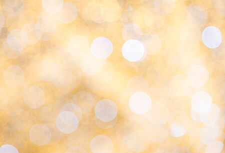 Blurred lights bokeh abstract background 写真素材