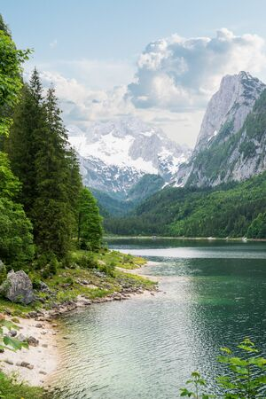 Langbathseen lake and national park in Austria