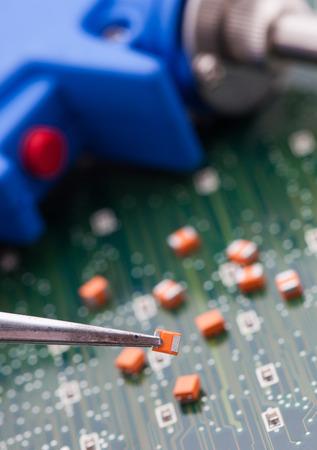 proto: Pick orange capacitor