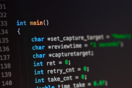 prompt: C computer language source code.