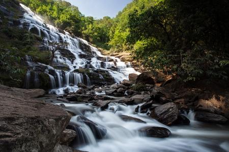 Maeya waterfall Doi Inthanon National Park, Chiang Mai, Thailand.