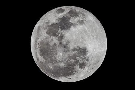 Full moon via Len 2650mm