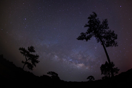 Milky way,taken with star tracker low noise high quality.