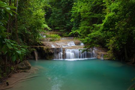 Erawan waterval National Park Kanjanaburi, Thailand.