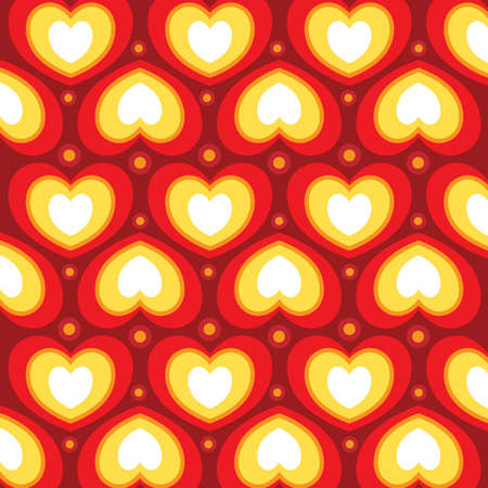 Heart shaped wallpaper - vector 8 Vector