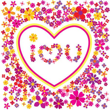I love you - Vector eps8 Vector