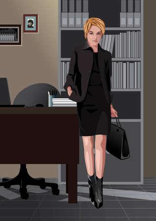 Beruf Satz: Sekretär  Standard-Bild - 4236077