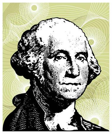 George Washington Stock Vector - 4283881