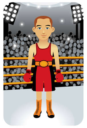 Sport series: Boxer - Vector EPS8. You can use any vector compatible software to openmodifyuse the file. The different graphics are on separate layers so they can be easily edited individually. Scalable to any size without loss of quality. Vector