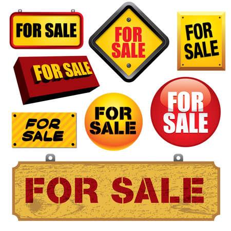 Pour la vente des signes - Visitez mon portfolio pour des illustrations et des vecteurs.