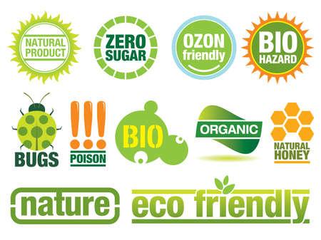creare: Ecologia icona set a tema. Utilizzare per creare i bottoni, etichette e opuscoli. Simili immagini nel mio portafoglio.