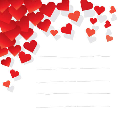 love words: love Letter. Vector illustration from my Love Collection. Visit my portfolio for more.