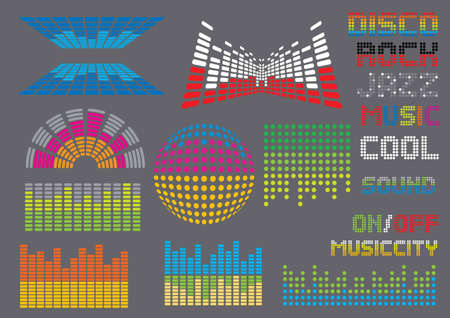 graphic equalizer: Music Set #8: Equalizers.